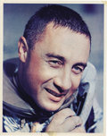 """Autographs:Celebrities, Gus Grissom Signed Photograph, 8"""" x 10"""", """"Regards to Joe Garino/Virgil I. Grissom."""" Grissom is pictured on July 21, 196...(Total: 1 Item)"""