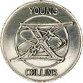 Autographs:Celebrities, Gemini 10 Flown Fliteline Sterling Silver Medallion, presented toJoe Garino by Michael Collins. From the collection of re...(Total: 1 Item)
