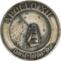 Transportation:Space Exploration, Apollo 12 Flown Robbins Sterling Silver Medallion, numbered 50 of262 flown, presented to Joe Garino by Charles Conrad. Meda...(Total: 1 Item)