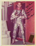 "Autographs:Celebrities, Alan Shepard Signed Color Photograph, 8"" x 10"", ""To Joe Garino-/I used to be in/ shape in these/ days!/ Alan Shepard."" ...(Total: 1 Item)"