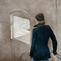 ANDREW NEWELL WYETH (American, 1917-2009) Reefer Collotype on paper 26 x 25 inches (66.0 x 63.5 c