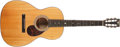 Musical Instruments:Acoustic Guitars, 2002 Martin 0040-SPR Natural Guitar, #842925....