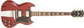 Musical Instruments:Electric Guitars, 1965 Gibson SG Standard Cherry Electric Guitar, #513452....