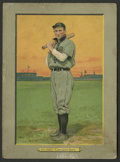 Autographs:Bats, 1910-11 T3 Turkey Red Cabinets Johnny Kling. ...