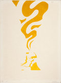 Fine Art - Work on Paper:Print, GERALD LAING (British, 1936). Untitled, 1965. Colorsilkscreen . 30-1/4 x 22 inches (76.8 x 55.9 cm). Ed: 10/20. Signed...