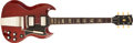 Musical Instruments:Electric Guitars, 1964 Gibson SG STD Cherry Guitar, #223789....