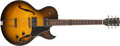Musical Instruments:Electric Guitars, 2001 Gibson ES-135 Sunburst Guitar, #03201342....