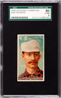 "Baseball Cards:Singles (Pre-1930), 1888 N162 Goodwin ""Champions"" Timothy Keefe SGC 80 EX/NM 6...."