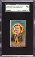 "Baseball Cards:Singles (Pre-1930), 1888 N162 Goodwin ""Champions"" Adam Bogardus SGC 84 NM 7 - Pop One,Highest Grade Known! ..."