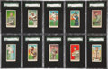 Baseball Cards:Lots, 1909-11 E90-1 American Caramel Collection (28) With Joss andWillis....