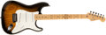 Musical Instruments:Electric Guitars, 2004 Fender Stratocaster Sunburst Guitar, #Z4027603....