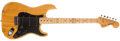 Musical Instruments:Electric Guitars, 1978 Fender Stratocaster Natural Guitar, #S927770....