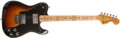 Musical Instruments:Electric Guitars, 1974 Fender Telecaster Deluxe Sunburst Guitar, #528203....