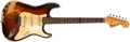 Musical Instruments:Electric Guitars, 1968/69 Fender Stratocaster Sunburst Guitar, #263632....