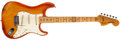 Musical Instruments:Electric Guitars, 1978 Fender Stratocaster Sunburst Guitar, #S997675....
