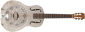 Musical Instruments:Resonator Guitars, Early '30s National Style O-Metal Guitar, #2004P....