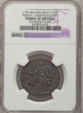 Colonials, 1795 1/2 P Liberty & Security/Irish Halfpenny Mule--PlanchetFlaw--NGC Details. XF. Baker-31M. NGC Census: (0/0). PCGS ...