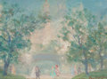 Fine Art - Painting, American:Modern  (1900 1949)  , JOHANN BERTHELSEN (Danish/American, 1883-1972). CentralPark. Oil on canvasboard. 6 x 8 inches (15.2 x 20.3 cm). Signed...