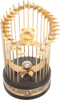 Baseball Collectibles:Others, 1997 Florida Marlins World Championship Trophy....