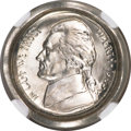 Errors, 1985-P 5C Jefferson Nickel--Obverse Die Cap--MS68 NGC....