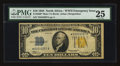 Small Size:World War II Emergency Notes, Fr. 2308* $10 1934 North Africa Silver Certificate. PMG Very Fine25.. ...