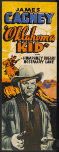 "Movie Posters:Western, The Oklahoma Kid (Warner Brothers, 1939). Other Company Insert (13"" X 35""). Western. ..."