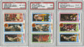 Basketball Cards:Lots, 1980-81 Topps Basketball PSA-Graded Group Lot of 3. Nice trio fromthe unique 1980-81 Topps basketball issue features the k...