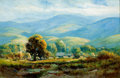 Fine Art - Painting, American:Modern  (1900 1949)  , MANUEL VALENCIA (American, 1856-1935). Salinas Valley. Oil on canvas . 12 x 18 inches (30.5 x 45.7 cm). Signed lower rig...