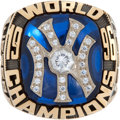 Baseball Collectibles:Others, 1996 New York Yankees World Championship Salesman's Sample Ring....