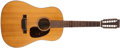 Musical Instruments:Acoustic Guitars, 1967 Martin D-12-20 Natural, #221621....