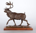 Miscellaneous, BOB SCRIVER (American, 1914-1999). Winter King, 1956. Bronze. 23 inches (58.4 cm) high. Ed. 94/100. Signed, dated, and n...