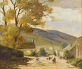 Fine Art - Painting, American:Other , GORDON C. BARLOW (British Nineteenth Century). EnglishLandscape. Oil on canvas. 19 x 23 inches (48.3 x 58.4 cm).Signed...