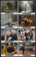 "Movie Posters:Sports, Hoosiers (Orion, 1986). Lobby Card Set of 8 (11"" X 14""). Sports.... (Total: 8 Items)"