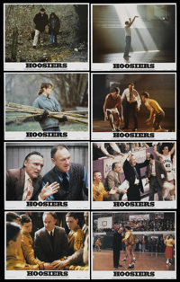 "Hoosiers (Orion, 1986). Lobby Card Set of 8 (11"" X 14""). Sports. ... (Total: 8 Items)"