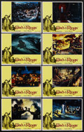 "Movie Posters:Animated, The Lord of the Rings (United Artists, 1978). Lobby Card Set of 8(11"" X 14""). Animated. ... (Total: 8 Items)"