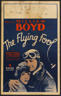 "Movie Posters:Drama, The Flying Fool (Pathe, 1929). Window Card (14"" X 22""). Drama. ..."