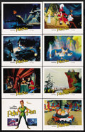 "Movie Posters:Animated, Peter Pan (RKO, R-1982). Lobby Card Set of 8 (11"" X 14""). Animated. ... (Total: 8 Items)"