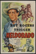 "Movie Posters:Western, Heldorado (Republic, 1946). One Sheet (27"" X 41""). Western. ..."