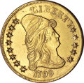 Early Eagles, 1799 $10 Small Stars Obverse--Cleaned--Uncertified. AU55Details....