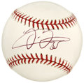 Autographs:Baseballs, Frank Thomas Single Signed Baseball. The great slugger and currentmember of the Toronto Blue Jays, Frank Thomas penned his...