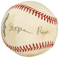 Autographs:Baseballs, Stephen Rea Single Signed Baseball. Stephen Rea, the Irish actorwho has starred in such films as The Crying Game, and ...