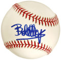 Autographs:Baseballs, Bob Hope Single Signed Baseball. Bob Hope was one of the mostenduring entertainers in our collective conscious, occupying ...