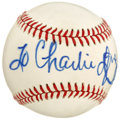 Autographs:Baseballs, 1992 Dolly Parton Single Signed Baseball. Signed at a 1992 concertat Radio City Music Hall, this personalized baseball has...