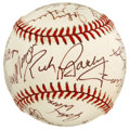 Autographs:Baseballs, New York Basketball Greats Multi-Signed Baseball . The renownedGotham basketball tradition is amply represented with this ...