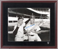 Autographs:Photos, 1990's Mickey Mantle Signed Large Photograph....