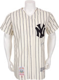 Autographs:Jerseys, 1990's Joe DiMaggio Signed Limited Edition Jersey....