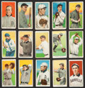 Baseball Cards:Sets, 1909-11 T206 White Borders Collection (145) With Cobb (2) and OldMill Southern Leaguers. ...