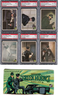 "Non-Sport Cards:Sets, 1966 Donruss ""Green Hornet"" High Grade Complete Set (44) PlusDisplay Box and Wrapper...."