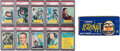 "Non-Sport Cards:Sets, 1963 Topps ""Astronauts"" High Grade Complete Set (55) With DisplayBox, Viewer And Wrapper. ..."