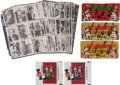 "Non-Sport Cards:Sets, 1964 Donruss ""Combat!"" Series 1 & 2 Complete Sets (132) Plus Display Boxes (3) and Wrappers (2). ..."